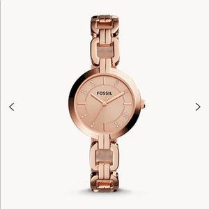 Fossil Rose Gold-Tone Stainless Steel Watch